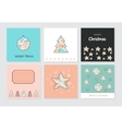 Banner Christmas cards vector image vector image