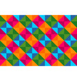 colorful diamonds seamless pattern background vector image