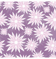 grunge seamless flower background vector image vector image