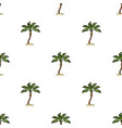palm beach treesummer rest single icon in cartoon vector image vector image