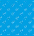 auto key pattern seamless blue vector image vector image