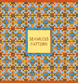 bright colorful seamless pattern with golden vector image