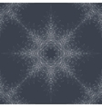 Geometric seamless texture Molecule and vector image vector image