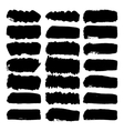 Grunge brush strokes vector image vector image