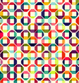 pattern of colored geometric elements vector image vector image