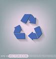 recycle symbol Environmental icon arrow vector image vector image