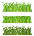 set of grass illustration vector image vector image
