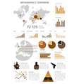 Terrorism Global Infographic vector image