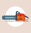 chainsaw icon chain saw pictogram icon vector image
