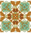 Beautiful seamless ornamental tile background vector image vector image