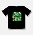 jungle logo to print t shirts vector image vector image