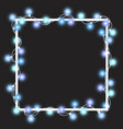 light garland vector image vector image
