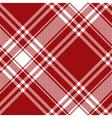 Menzies tartan red kilt diagonal fabric texture vector image vector image