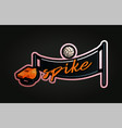 realistic volleyball net whistle and ball sticker vector image