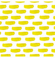 yellowl watercolor seamless pattern vector image vector image