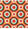 seamless circles polka dots pattern vector image