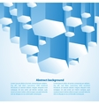 Abstract 3d-dimensional background vector image vector image