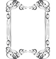 Classical Frame vector image vector image