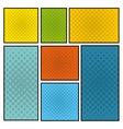 comic pop art style icon vector image