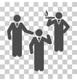Discuss Standing Persons Icon vector image vector image