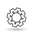 gear icon design vector image