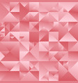 geometric abstract color gradient triangle mosaic vector image vector image