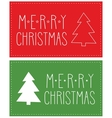 Holidays card with christmas tree and wishes vector image vector image