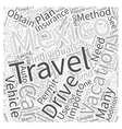 Travel Options While Vacationing in Mexico Word