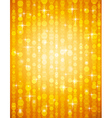 golden brightnes suitable for christmas vector image