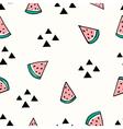 Seamless Watermelon Pattern vector image