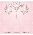Background with jewelry vector image vector image