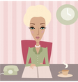 business lady vector image vector image