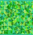 minimal polygonal green gradient mosaic triangle vector image vector image