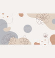 nature background design minimalist vector image