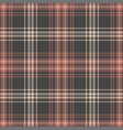 plaid pattern background vector image vector image