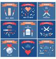 26 june international day drug abuse cards set vector image vector image