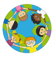 children world vector image vector image