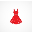 Dress Icon vector image vector image