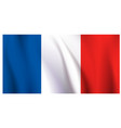 flag france vector image vector image