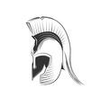 Greek Helmet vector image