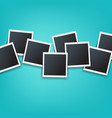 photos border isolated mint background vector image vector image