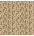 seamless pattern with isometric locks vector image vector image