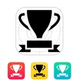 Trophy and awards icon vector image vector image