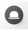 fedora icon symbol premium quality isolated vector image