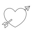 hearts and love vector image vector image