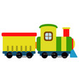isolated train toy icon vector image