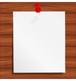 paper note vector image vector image