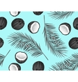 Seamless pattern with coconuts Tropical abstract vector image vector image