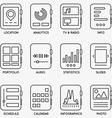 Set of kits of mobile watch - part 2 vector image vector image