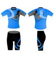 Sportswear fashion design vector image vector image